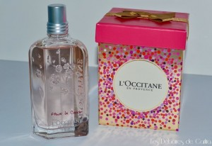 parfum fleur de cerisier l'occitane en provence les déboire de carlita
